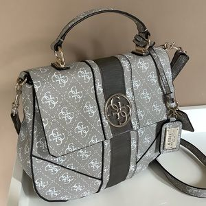 Coated canvas Guess crossbody/ handbag